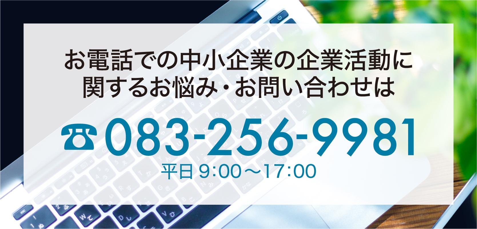 お電話でのお問い合わせは083-256-9981